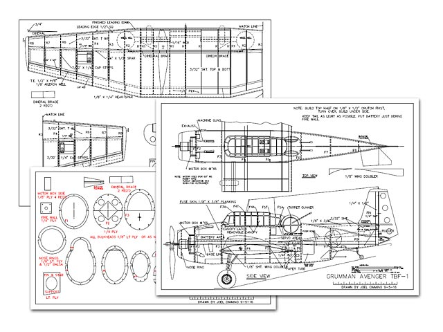 Grumman Avenger TBF-1 - 8037