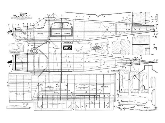 Pilatus Porter (oz8048) by Joachim Fuchs from FMT 1960