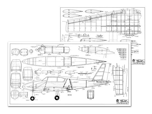 Piper Twin Comanche - 8060