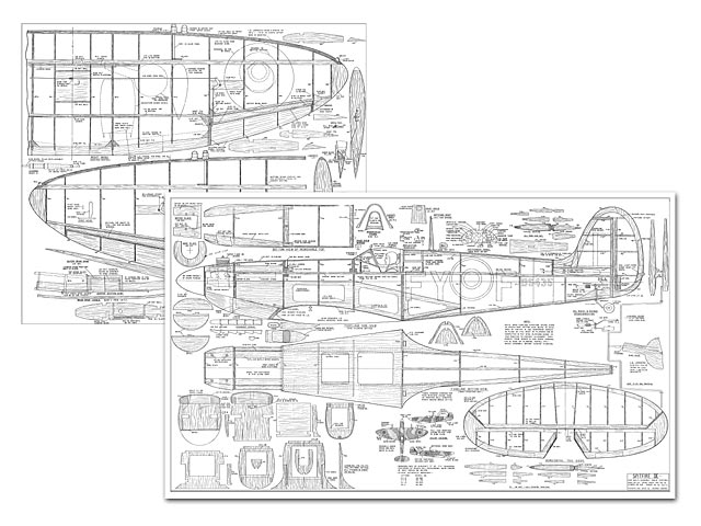 Spitfire Ix Plan Free Download Outerzonerhouterzonecouk: Spitfire Airplane Schematics Or Drawings At Gmaili.net