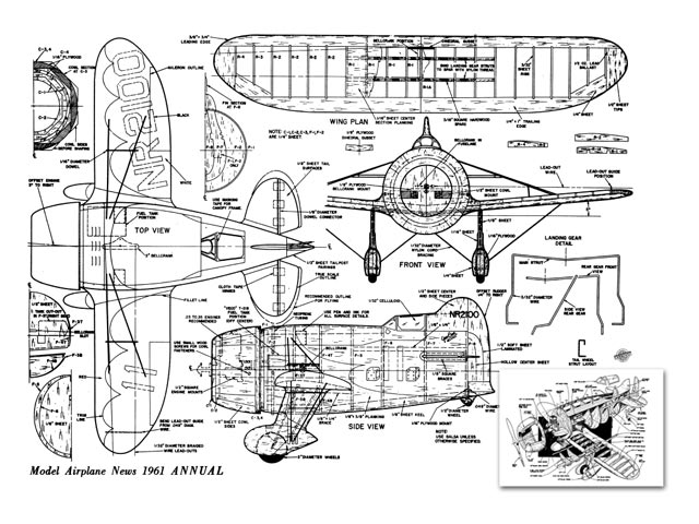 Gee Bee R-1 - plan thumbnail image
