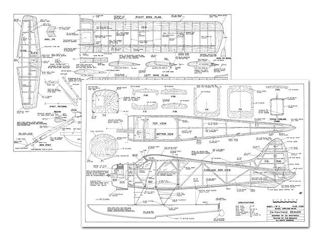 DHC-2 Beaver - plan thumbnail image