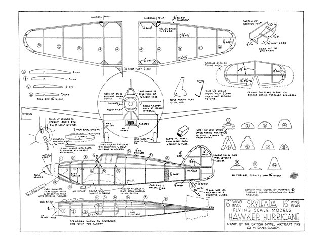 Hawker Hurricane - plan thumbnail image