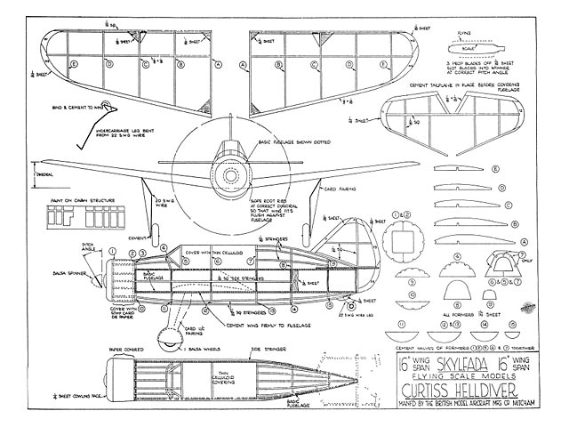 Curtiss Helldiver - 8322