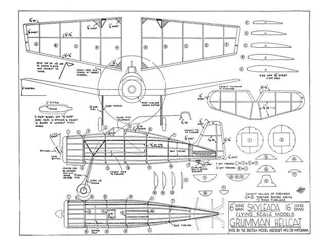 Grumman Hellcat (oz8323) from Skyleada