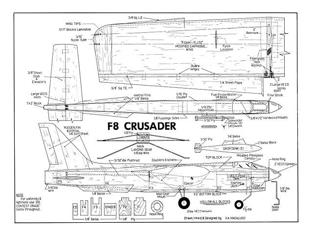 F-8 Crusader - 8326