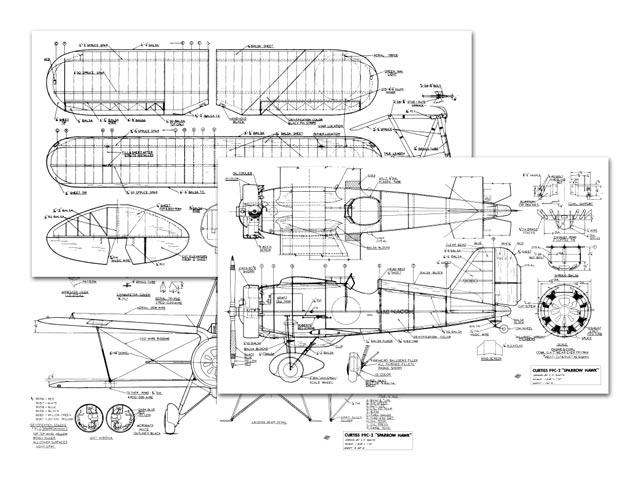 Curtiss F9C-2 Sparrowhawk (oz8357) by CF Smith