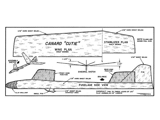 Canard Cutie - 8362