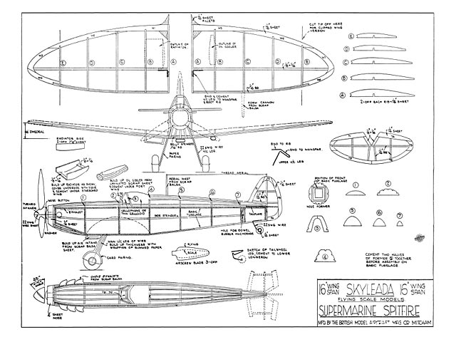Spitfire - 8365