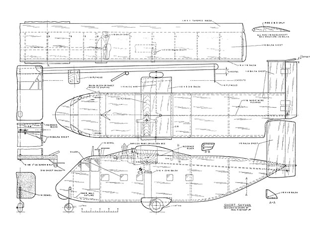 short skyvan plan - free download