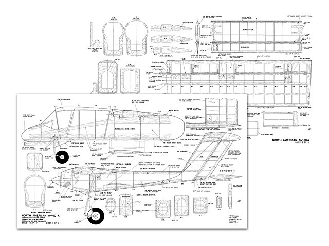 OV-10A Bronco plan - Free download - Outerzone