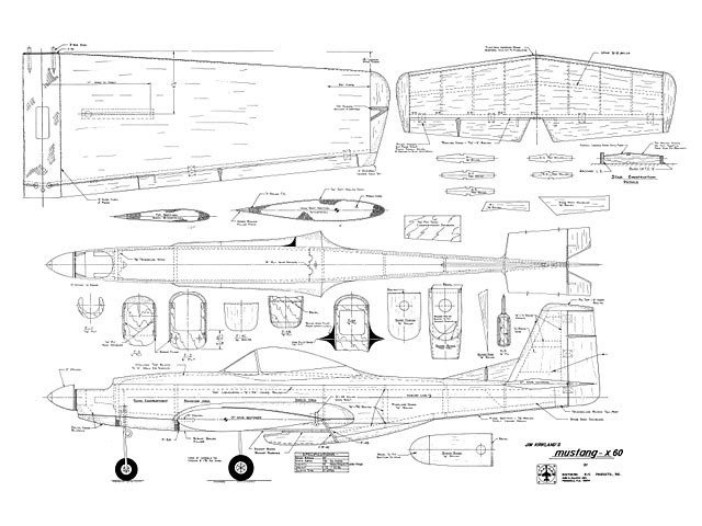 Mustang X 60 - 8416