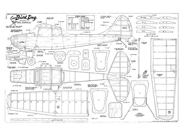 Cessna Bird Dog plan - Free download - Outerzone