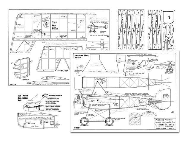 Lincoln Beachey Monoplane 1915 - 8473