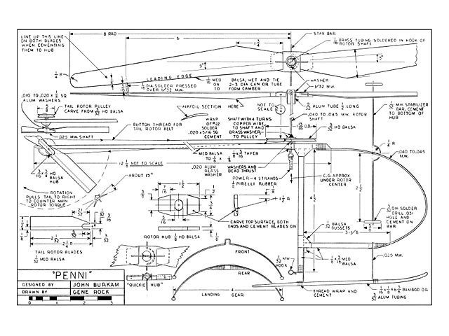 Penni Helicopter Plan Free Download Outerzone