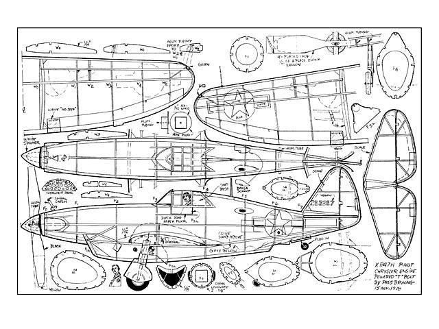 Republic XP-47H - 8486