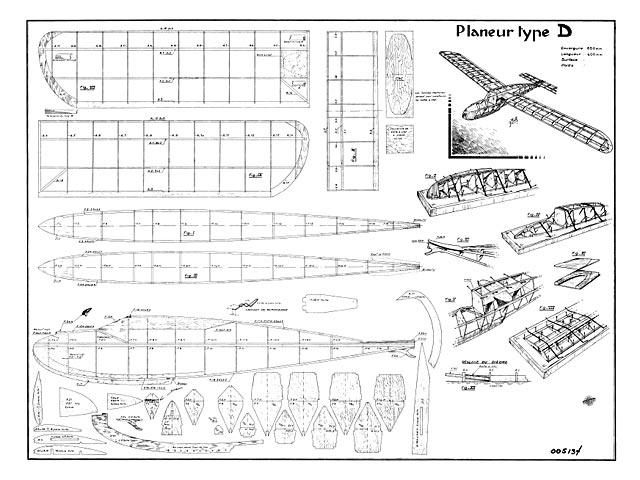 Glider Type D - 8524
