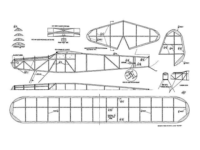 Flying Aces Moth - plan thumbnail image