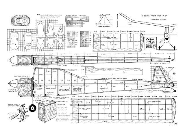 Cabin Pylon - 8548