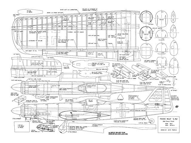 Focke-Wulf Ta 152 - plan thumbnail image