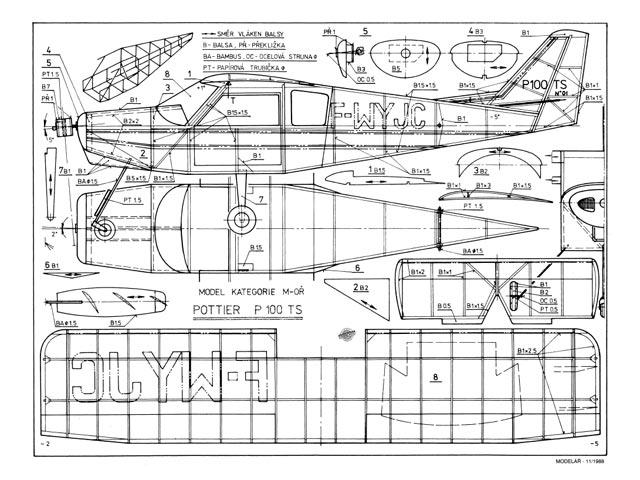 Pottier P.100 TS - 8592