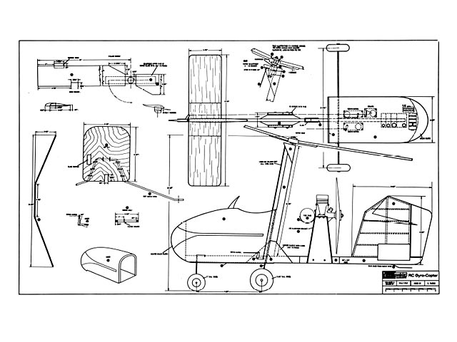 RC Gyrocopter - plan thumbnail image