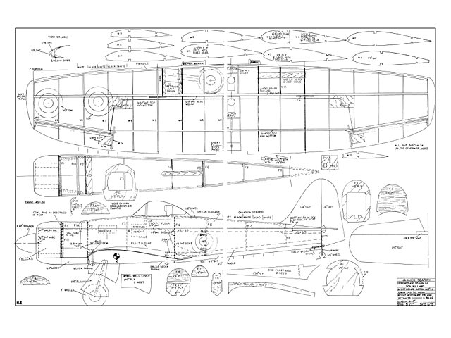 Hawker Sea Fury - plan thumbnail image