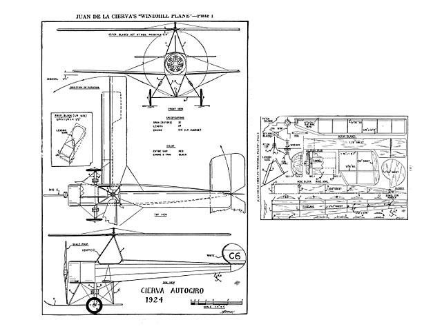 Cierva Autogiro - 8599