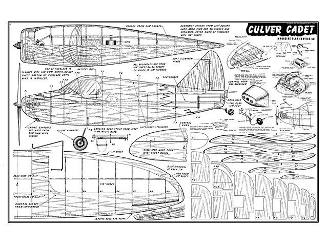 Culver Cadet - plan thumbnail image