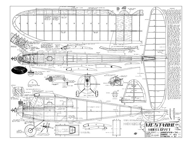 Westwind (oz8611) from Modelcraft 1941