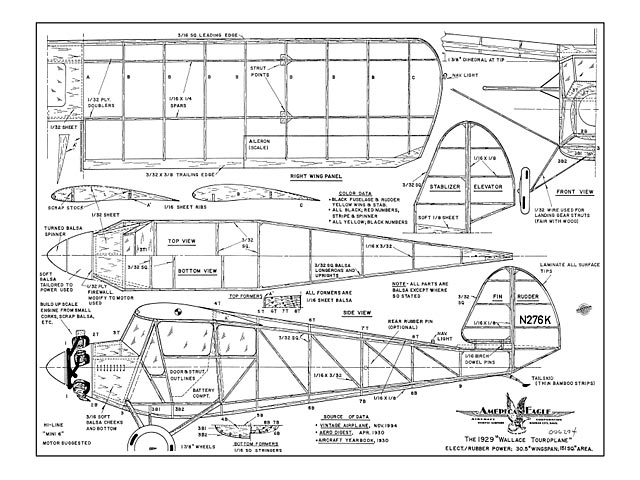 Wallace Touroplane - plan thumbnail image