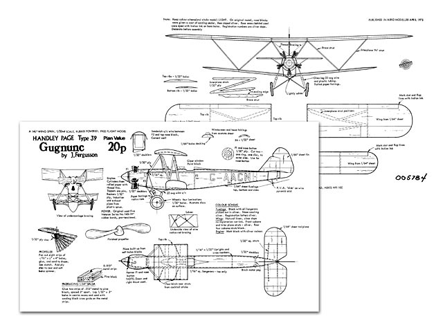 Handley Page Gugnunc - 8631