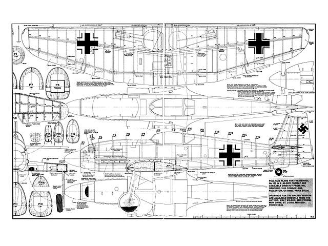 Heinkel He 100 - 8642