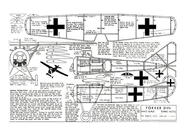 Fokker DVIII - 8696