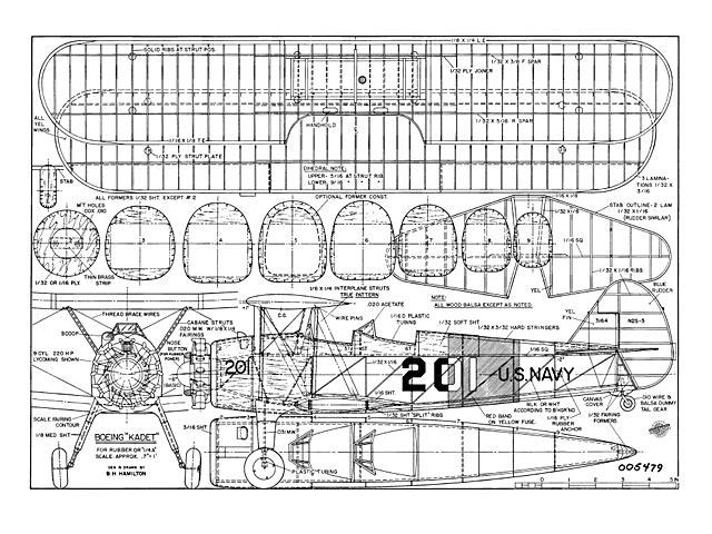 Boeing Kadet (oz8697) by BH Hamilton
