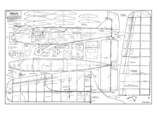 Ford Tri-Motor plan - Free download - Outerzone