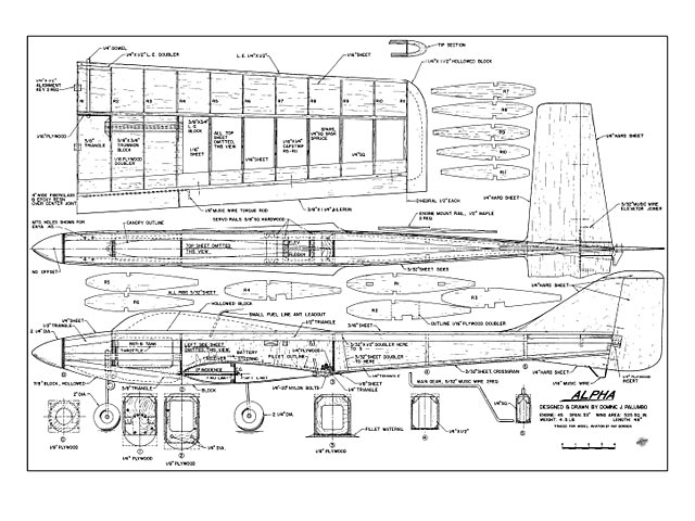Alpha (oz8792) by Dominic Palumbo from Model Aviation 1980