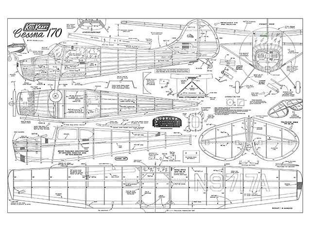 Cessna 170 Plan Free Download Outerzone