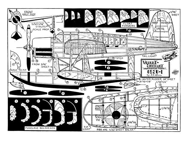 Vought Sikorsky OS2U-1 - 8834