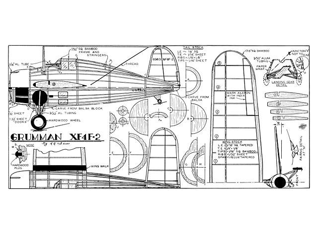 Grumman XF4F-2 - 8847