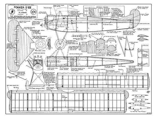 Fokker D VII - 8849