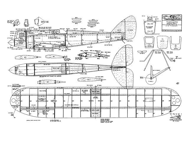 DH71 Tiger Moth - 8873