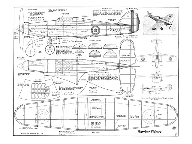 Hawker Fighter - 8901