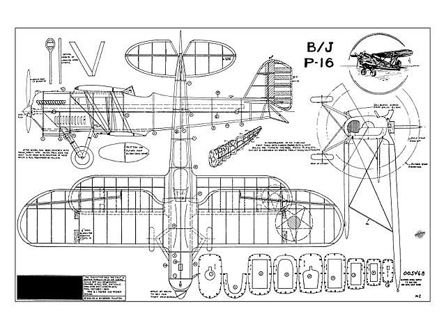 Berliner-Joyce P-16 - plan thumbnail image