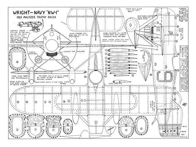 Wright Navy NW-1 - plan thumbnail image