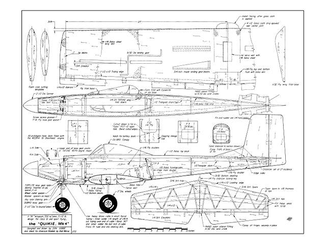 Quikie Mk 4 - plan thumbnail image