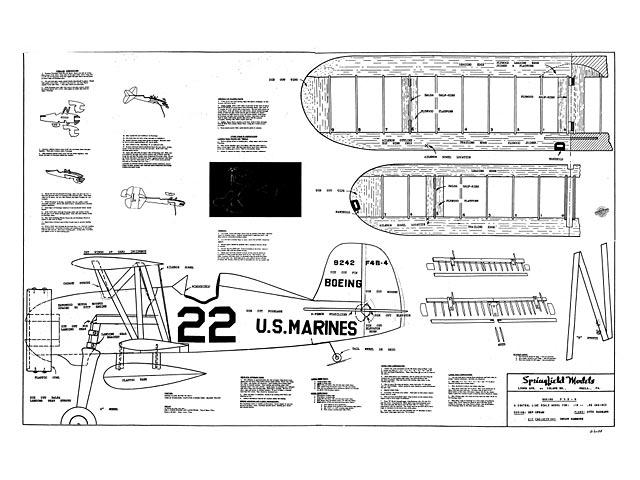 Boeing F4b-4 - plan thumbnail image