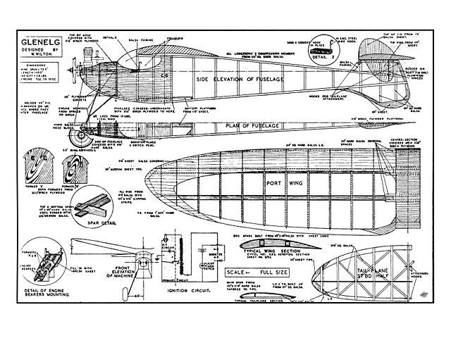 Glenelg (oz906) by W Wilton from Aeromodeller 1945