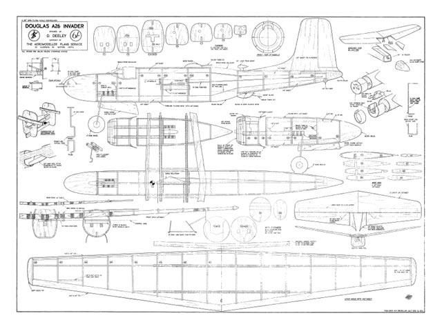 Douglas A-26 Invader - plan thumbnail image