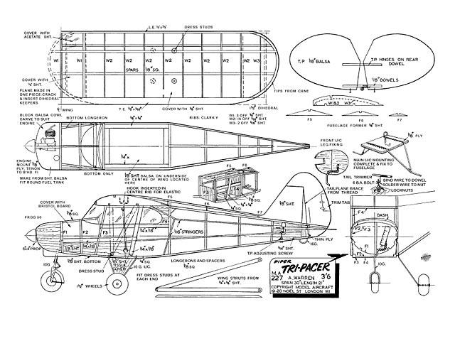 Piper Tri-Pacer - 9100